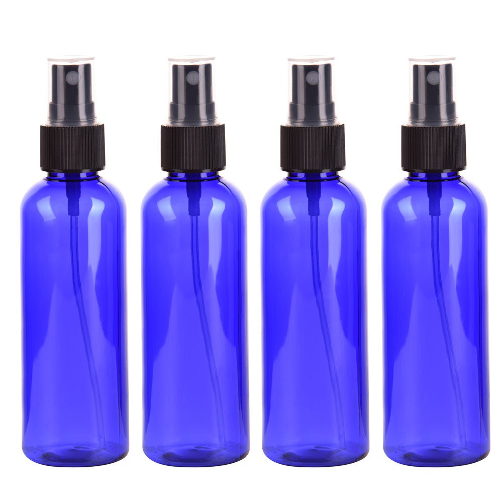 4PCS Spray Bottle, Travel Bottle Set,100ML Spray Bottle Fine Spray Plastic Bottle- Shape Retention, Non-Toxic And No Pollution, Carry At All Times kati-way