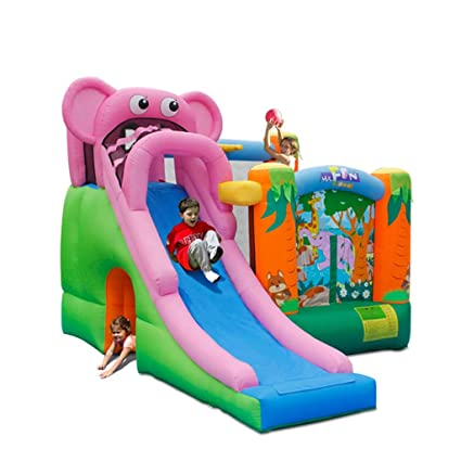 Amazon.com: Inflatable Bouncers Childrens Large Toys Indoor Home ...