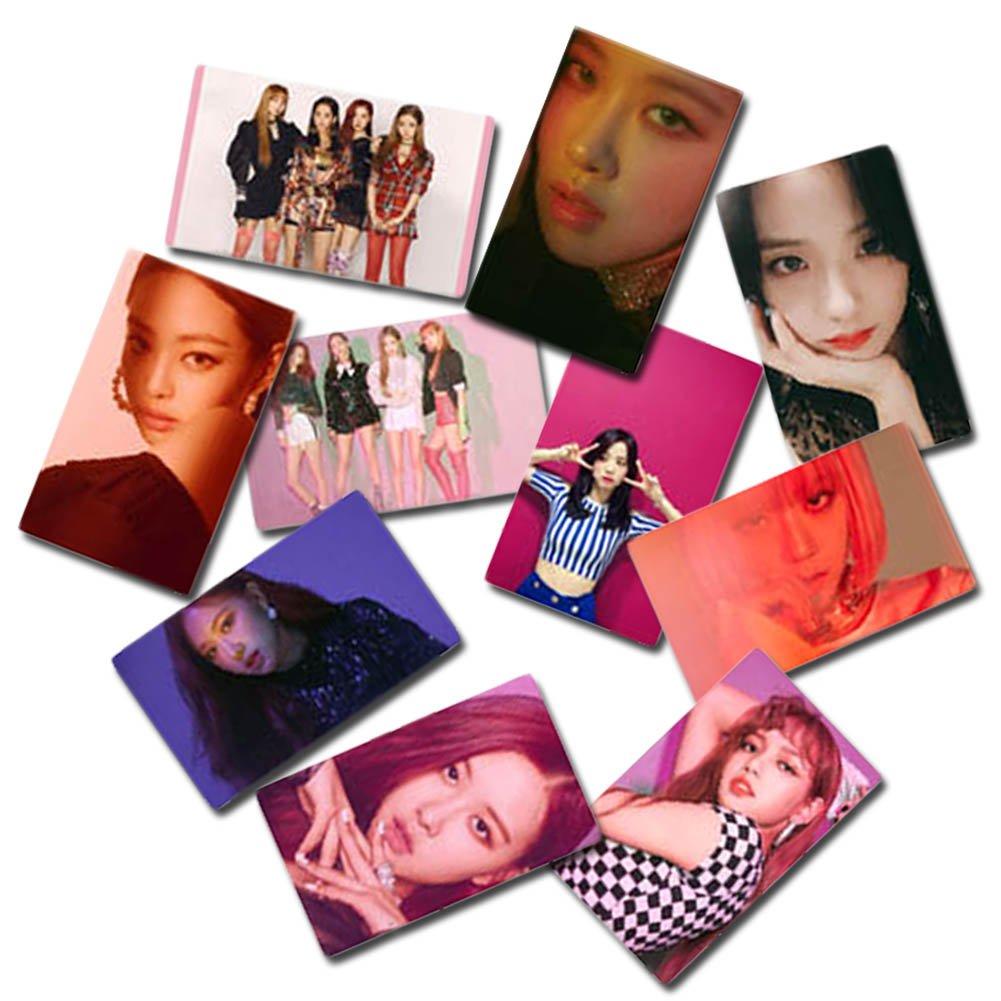 TWICE-1 yovvin 30/pieza BTS Foto Tarjetas colecci/ón y mejor regalo para The Army y The Fans Kpop BTS//Exo//got7//NCT//Big Bang//Twice//Seve nteen//Wanna One photocard 8.8 x 5.6 CM