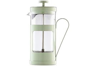 La Cafetiere Monaco - Cafetera (Independiente, De café molido, Manual, Café, Francés de Prensa, Verde, Transparente): Amazon.es: Hogar