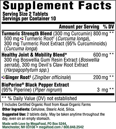 61y3S1wfFPL - MegaFood Turmeric Strength for Joint