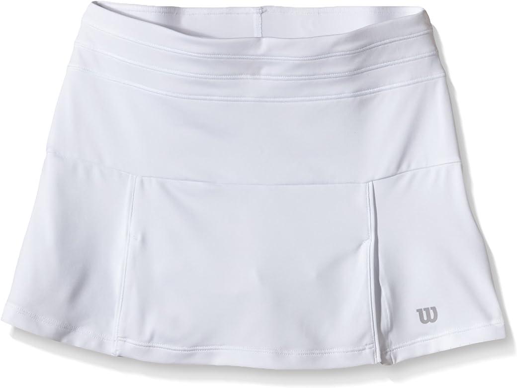 Wilson WR4010110XS - Falda para Mujer, Color Blanco, Talla XS ...