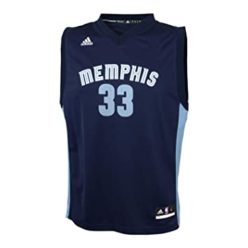 5bcba6809 adidas Marc Gasol Memphis Grizzlies NBA Replica Youth Jersey  Amazon.co.uk   Sports   Outdoors