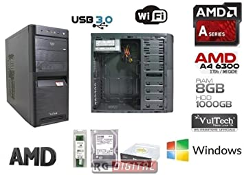 rgdigital – Desktop PC AMD A4 – 6300 2 x 3.7GHz (Turbo hasta a