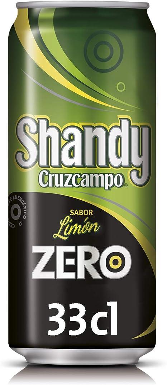 Cruzcampo Shandy Zero Limón Cerveza Lata - 330 ml: Amazon.es ...