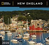 National Geographic New England 2020 Wall Calendar