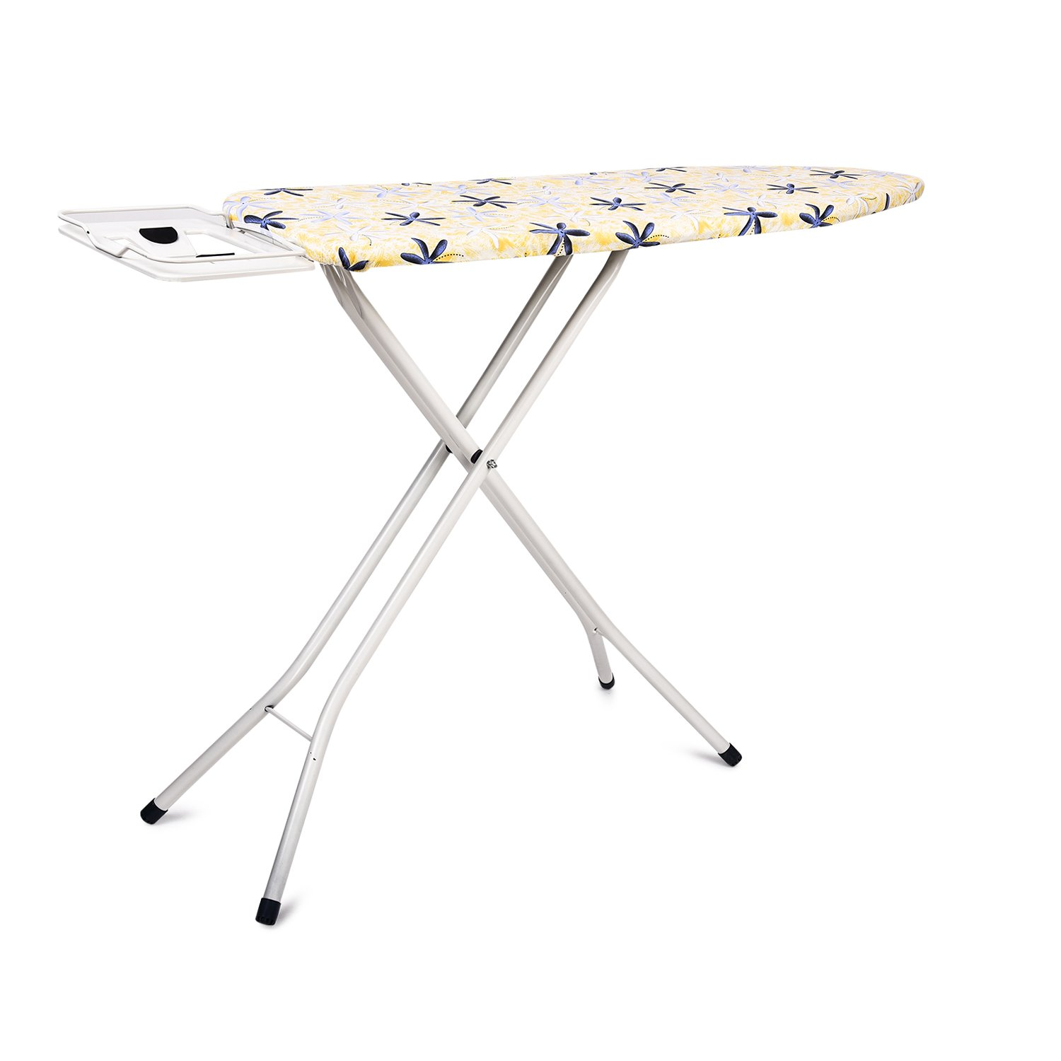 bfe6a1aaccb PAffy Premium Metal Ironing Board Table - Foldable - with Grilled Iron  Holder - White - Lifetime Warranty  Amazon.in  Home   Kitchen