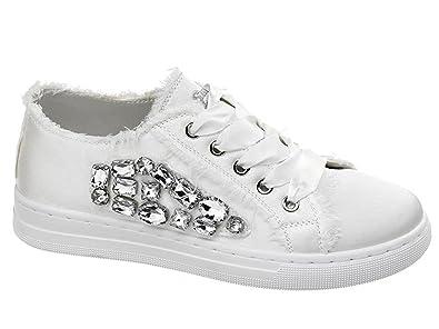 seleziona per genuino shopping fashion design Sweet Years Scarpe Donna Sneakers in Tessuto Bianco S18 ...