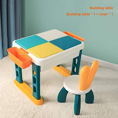 Building Table, Multi-Functional Children's Toys, Boys Assembling, Intelligence, Brain, Big Particles: Home & Kitchen