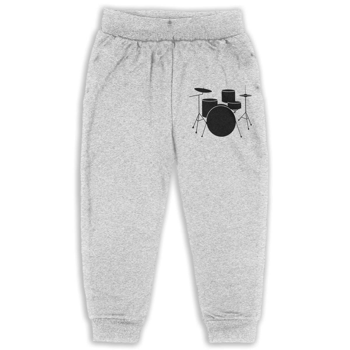 AaAarr Toddlers Drums Drawstring Sweatpants for Boys and Girls