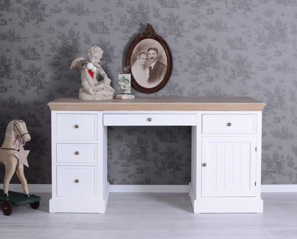 wohnwand shabby chic wohnwand glow in braun wei shabby chic wohnwand york shabby chic. Black Bedroom Furniture Sets. Home Design Ideas