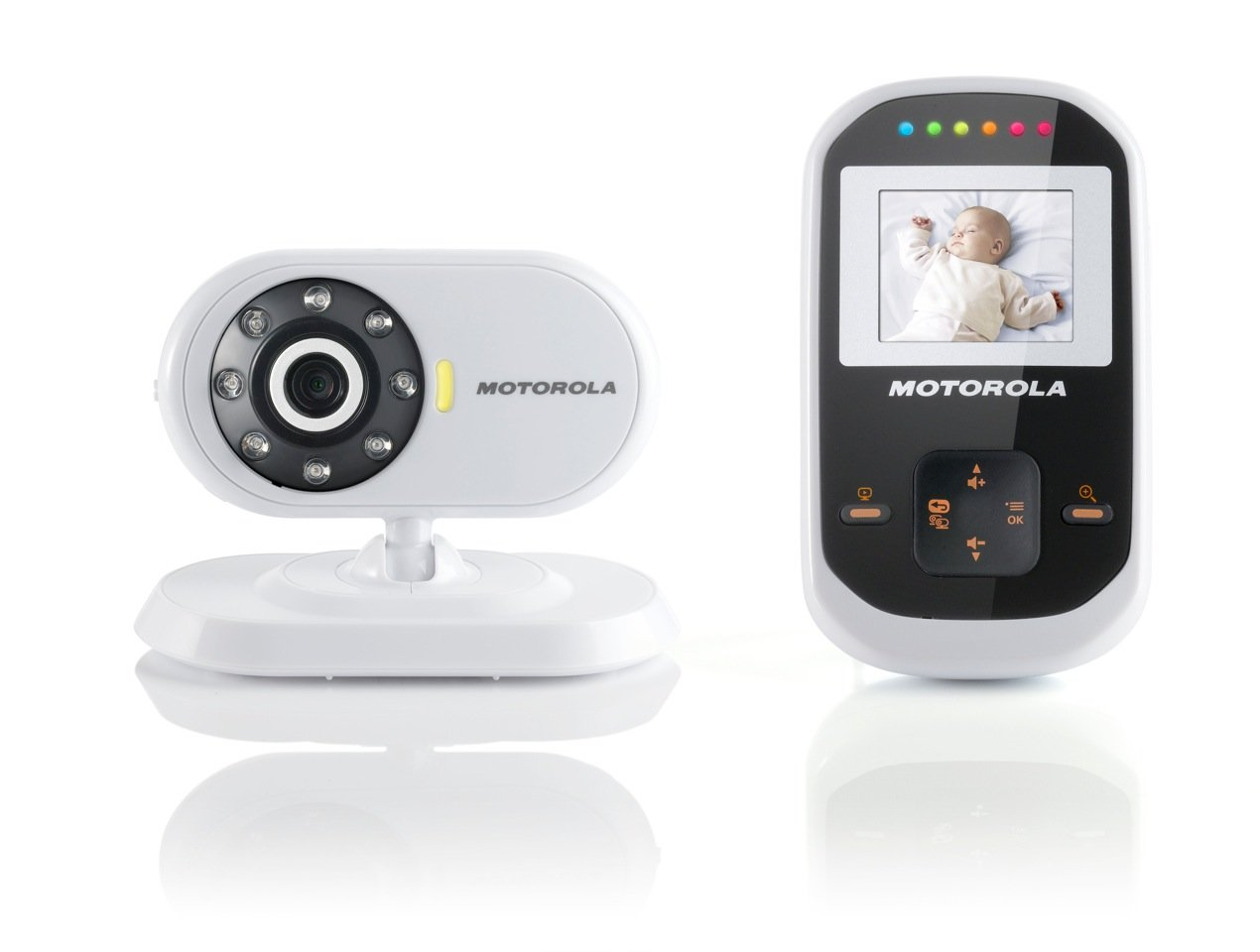 motorola mbp18 digital video baby monitor ebay. Black Bedroom Furniture Sets. Home Design Ideas