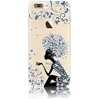 iPhone 7 Plus Funda, Sunroyal TPU Silicona Suave