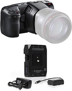 Amazon Com Blackmagic Design Pocket Cinema Camera 6k Ef With Core Swx Powerbase Edge 14 8v 49wh Battery Camera Photo