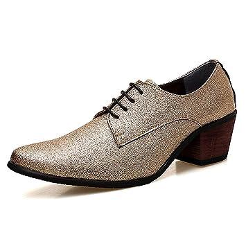 Tacón Para Oxfords HombreDe Zapatos AltoCon Starttwin 8mwN0Ovn