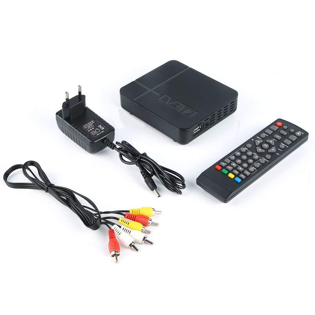 Signal Receiver Of Tv For Dvb-T Digital Terrestrial Dvb T2 / H.264 For Dolby Black by MoJoyo