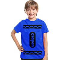 Crayon Halloween Costume T Shirt for Kids Boys Girls   Group Idea   Youth Graphic t Shirt