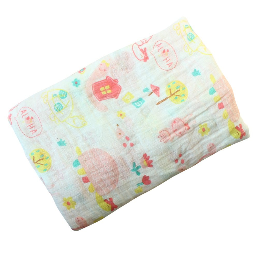 A1(Pferd) Baywell Baumwolle Baby Gaze Wrap Decke Puckt/ücher Niedlich Kost/üm Fotoshooting Baby Swaddle Blanket
