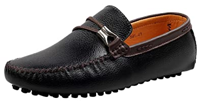 Salabobo 591 New Mens Stylish Casual Loafers Slip-on Moccasins Driving Shoes Black US Size6