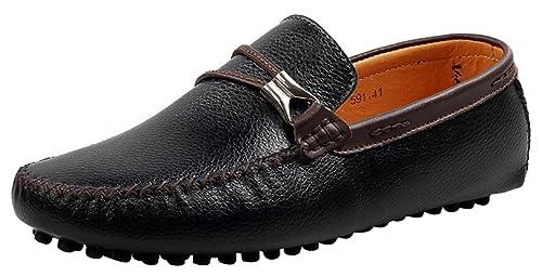 CFP - Botas mocasines hombre , color negro, talla 41 EU: Amazon.es: Zapatos y complementos