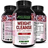 Mega Suppressant Weight Loss Supplement with Pure Garcinia Cambogia Green Coffee Bean and Raspberry Ketones Natural Diet Pills Fat Burner Appetite Suppressant for women and men by Bio Sense For Sale
