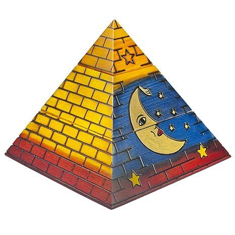 Amazon.com: Polaco Handmade Luna Pirámide joyas caja de ...