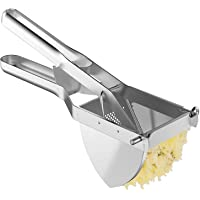 MyLifeUNIT Heavy Duty Commercial Potato Ricer, Stainless Steel Business Potato Ricer and Masher
