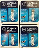 QTY 200 Bayer 7310 Contour Next Blood Glucose Test Strips New