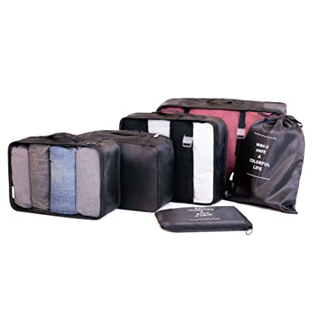 Merit Ocean - Organizador para maletas Negro Negro