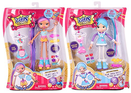 [Betty Spaghetty Skate-Cafe Lucy and Blue Snow-Pink Ski Betty Bundle] (Mix N Match Dance Costume)