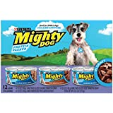 Purina Mighty Dog Variety Packs Wet Dog Food - 24-5.5 oz. Cans