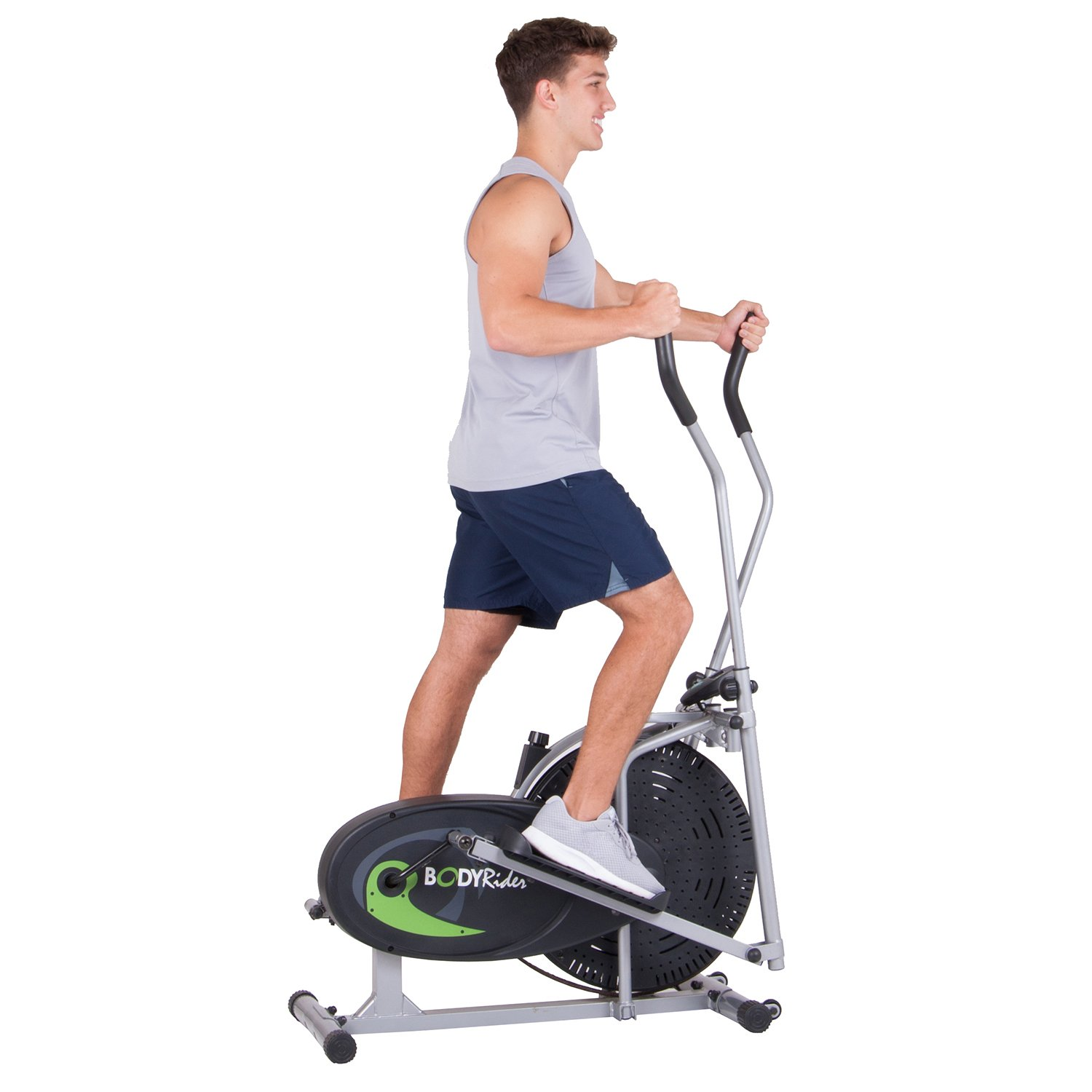 Body Rider Fan Elliptical Trainer with Air Resistance System, Adjustable Levels and Easy Computer BR1830 by Body Max (Image #8)