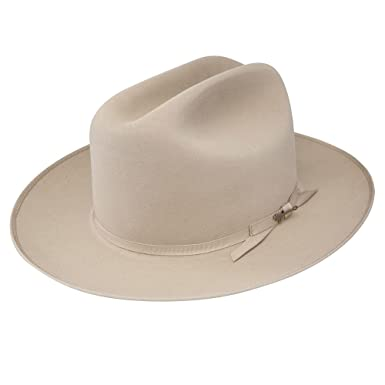 29cae0da57a Stetson Royal Deluxe Open Road Hat-Silverbelly-7 . Roll over image to zoom  in