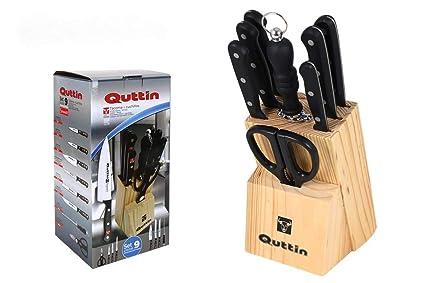 Compra Juego Cuchillos QUTTIN 9 Piezas Tacoma Sybarite en ...