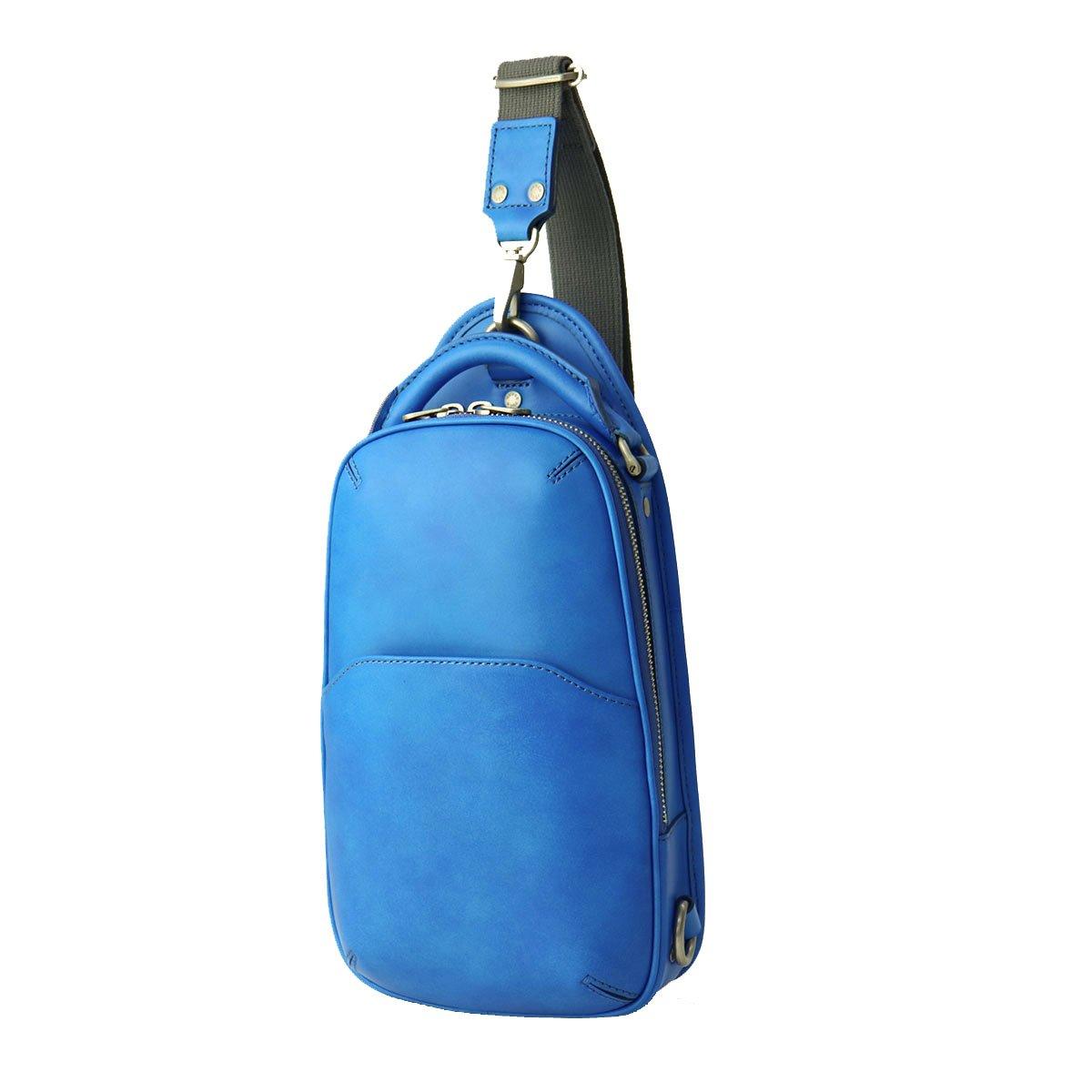 [エルゴポック] HERGOPOCH ワンショルダーバッグ ボディバッグ 06-OS B01EQZQGIO EARTH BLUE/アースブルー EARTH BLUE/アースブルー