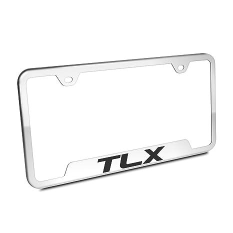 Amazon.com: Acura TLX Chrome Steel License Plate Frame: Automotive