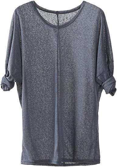 Camisa de Puntos Mujer, Suéteres Que Tejer de Las Mujeres de ...