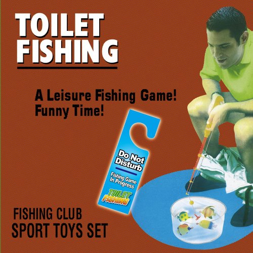 Christmas Gifts For Family - Potty Fisher Toilet Fishing Game