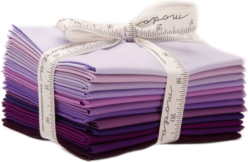 Moda Fabrics ベラ固形物の12人の脂肪クオーター9900Ab 128 B073SL4F9S