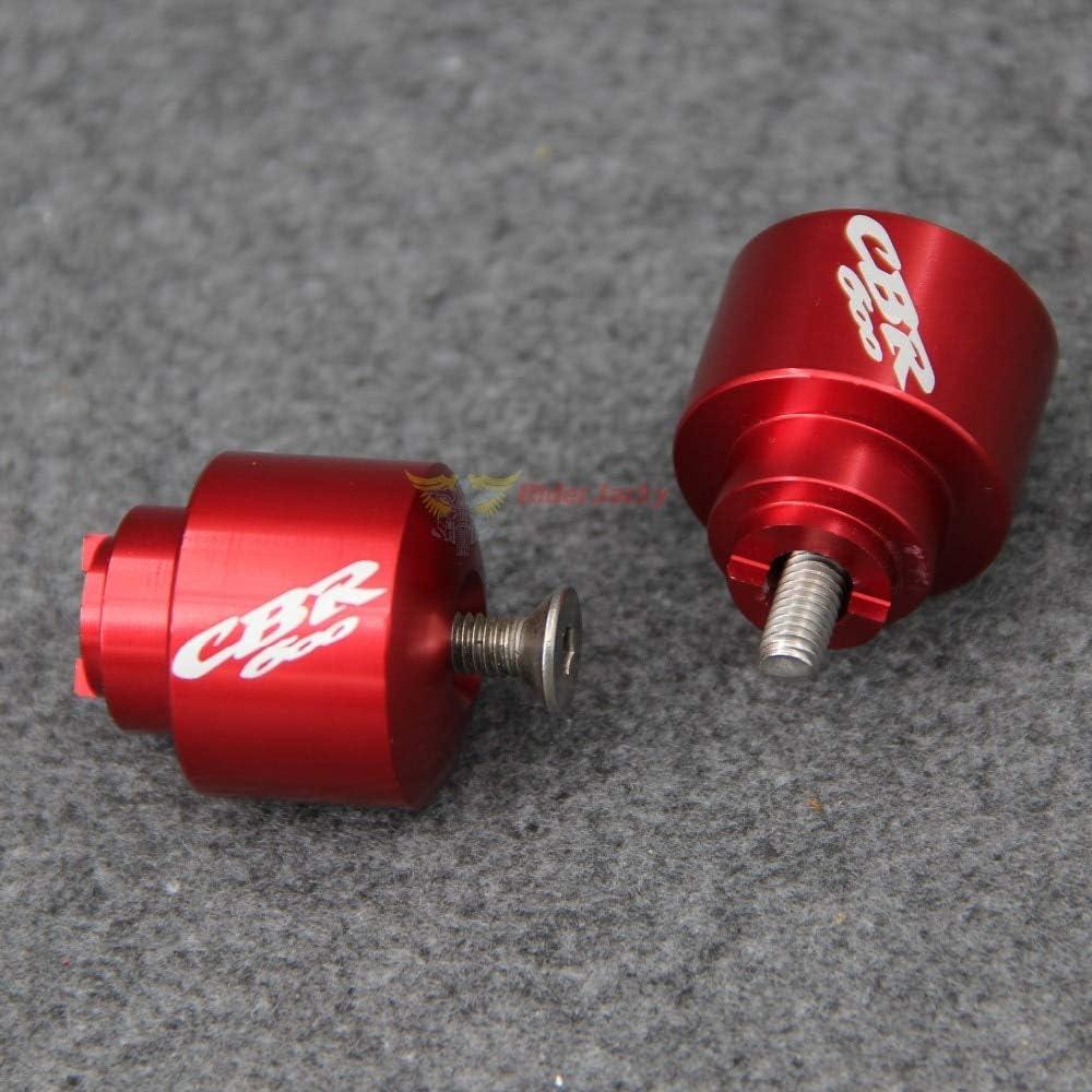 Occus Grips Motorcycle Bar Ends Handlebar Grip End Caps for Honda CBR600 CBR 600 F1//F2//F3//F4//F4i 1987-2006 2000 2001 2002 2003 2004 2005