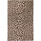 Surya Athena ATH-5000 Contemporary Hand Tufted 100% Wool Driftwood Brown 2'6'' x 8' Animal Runner