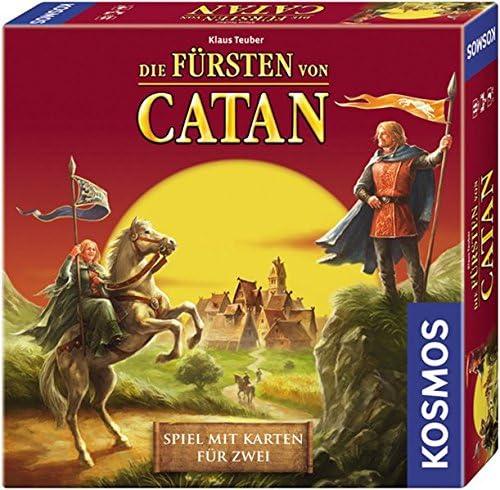 KOSMOS 694715 Los rivales de Catan - juego de cartas para dos jugadores: Amazon.es: Juguetes y juegos