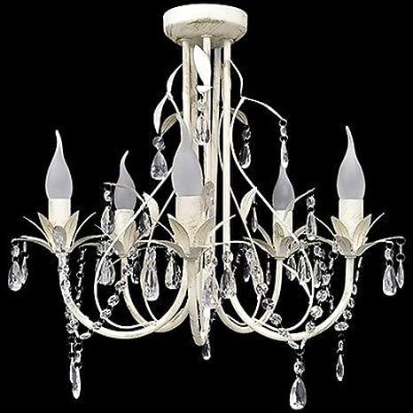LD 1 x 36230 - Lámpara araña colgante lámpara de techo ...