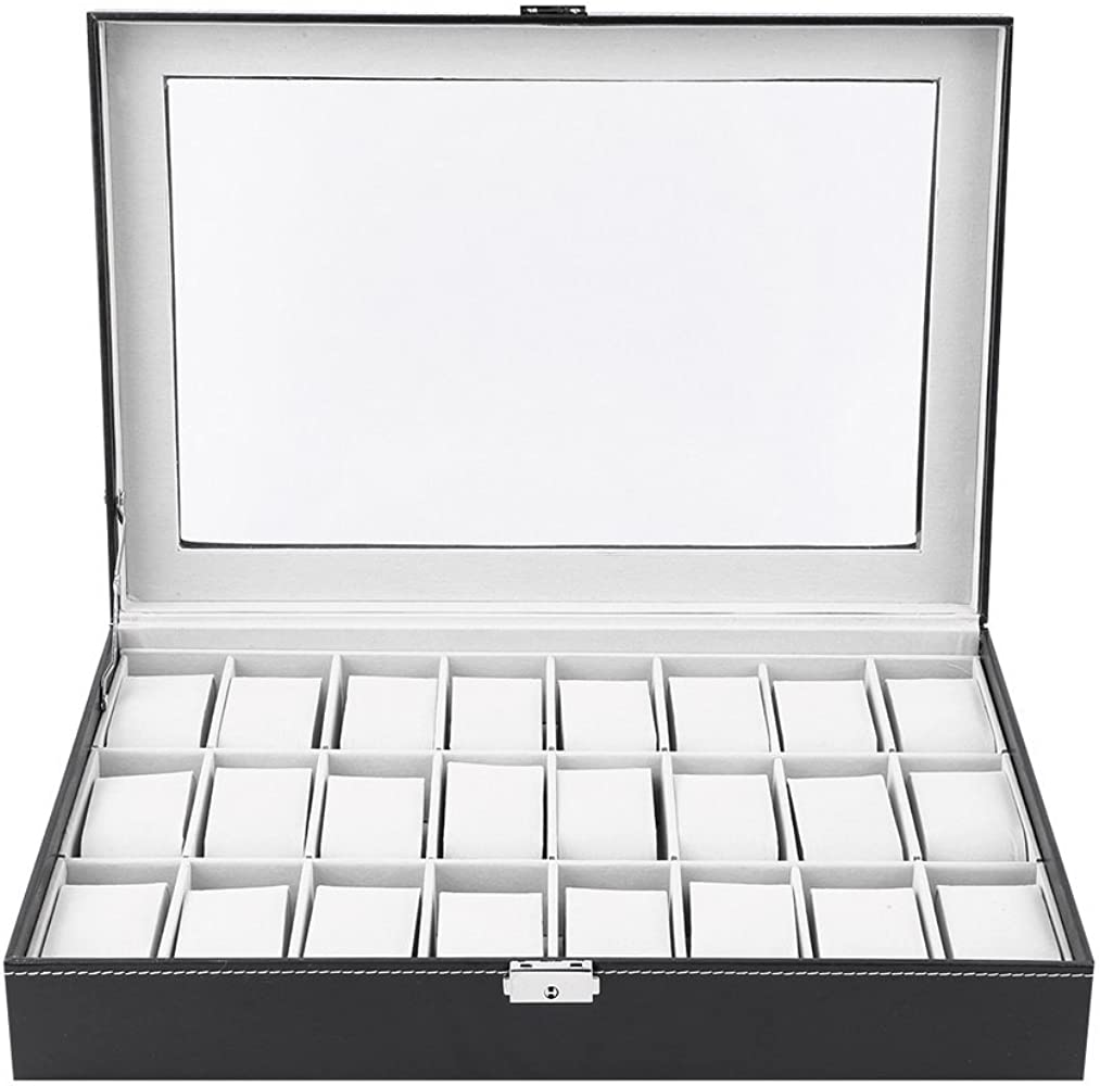 hehi Lark Elegante Relojes Caja de Reloj Caja Reloj maletín Reloj ...