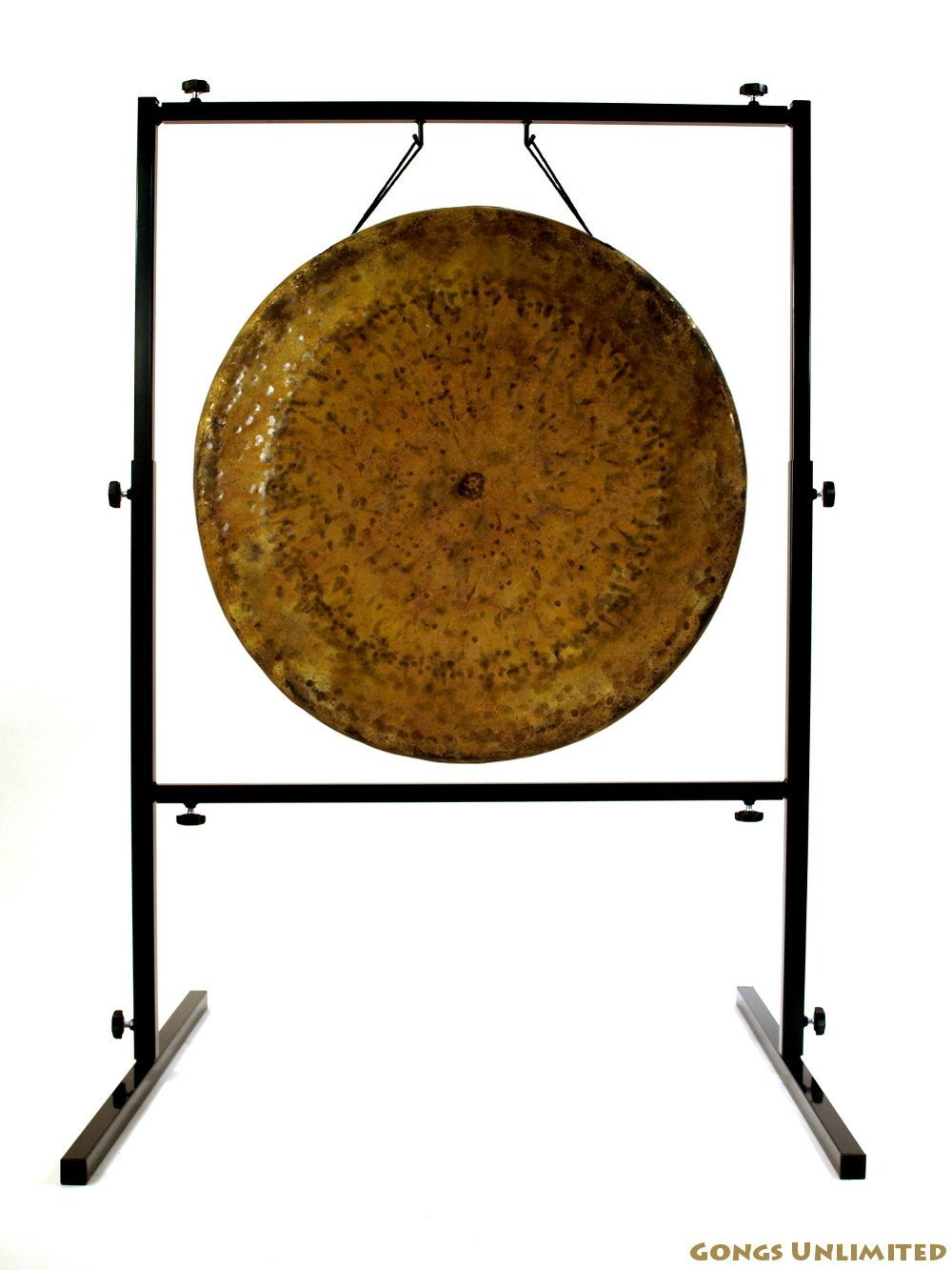 22'' to 26'' Gongs on the Rambo Rimbaud Gong Stand