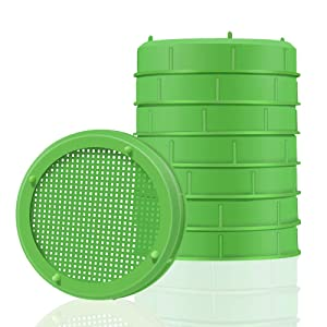 Picowe 8 Pack Plastic Sprouting Lids