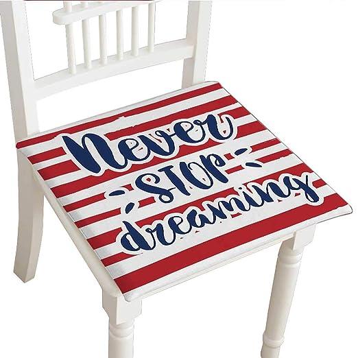 Cojín decorativo clásico para silla (14 x 14 x 2 piezas ...