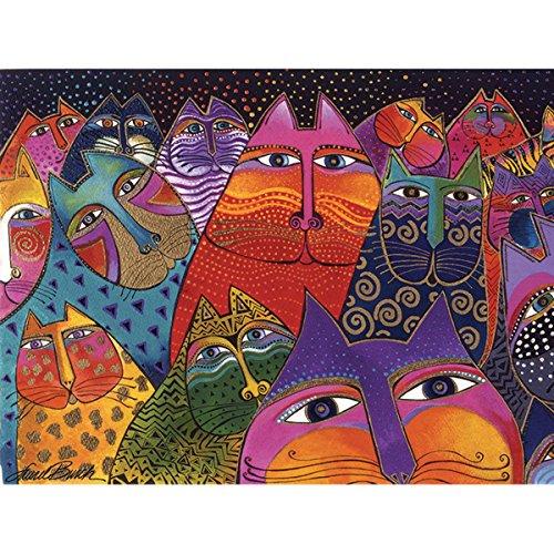 Westland Giftware Canvas Wall Art, Fantasticats, 12 by 16