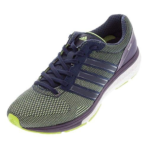 Zapatillas de correr para mujeres adidas Adizero Boston, color Amarillo, talla 43,4 EU B (M): Amazon.es: Zapatos y complementos