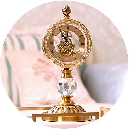 Relojes de escritorio Reloj Sala De Estar Europea Dormitorio Reloj ...